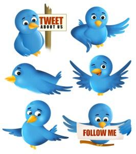 Twitter birds.