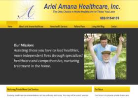 Ariel Amana Website