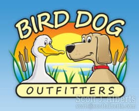 Bird Dog Outfitters logo.