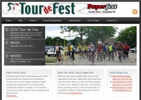 Tour de Fest Website