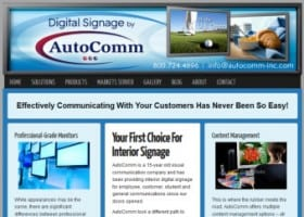 Digital Signage Website