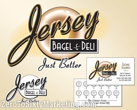 Jersey Bagel Logo