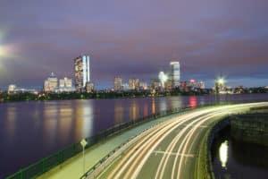 Boston city flow.