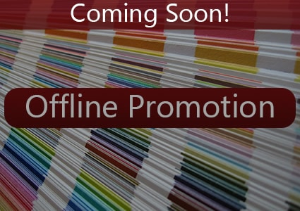Coming Soon: Offline Promotion Basics